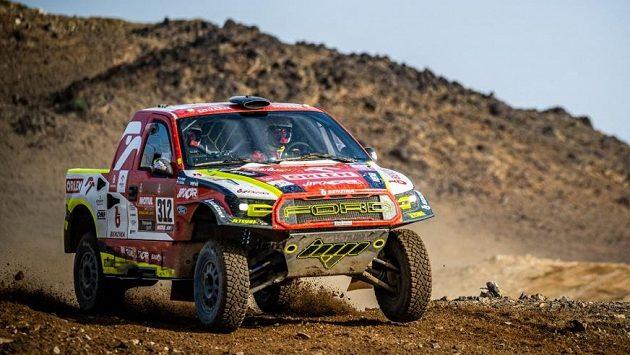 Druhá etapa Rallye Dakar