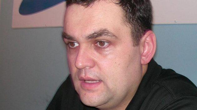 Trenér basketbalistů Děčína Pavel Budínský.