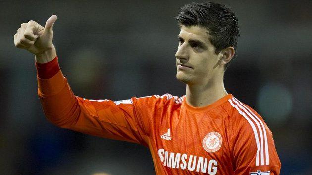 Thibaut Courtois si zvyká na pozici jedničky Chelsea.