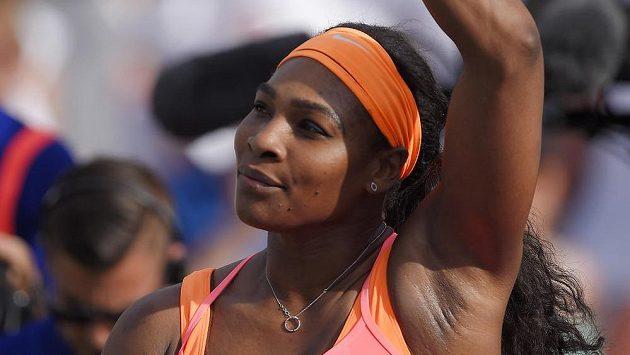 Serena Williamsová v Indian Wells.