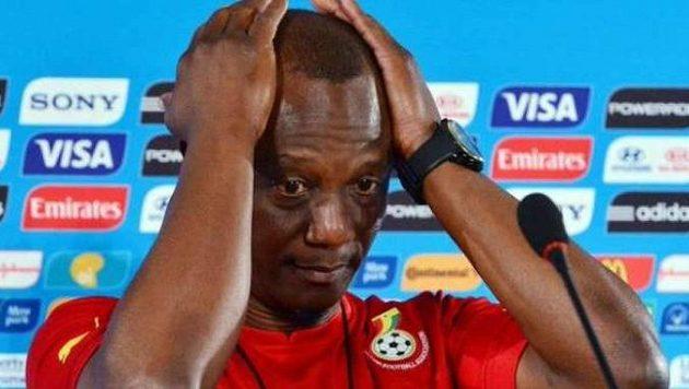 Kwasi Appiah, bývalý kouč ghanských fotbalistů.