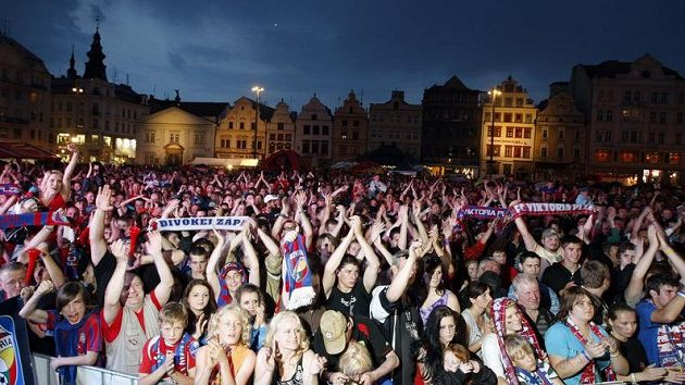 Plzeňští fanoušci