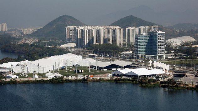 Pohled na olympijskou vesnici v Riu.