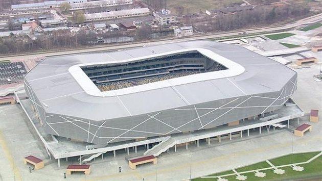 Fotbalový stadión ve Lvově je architektonickou perlou. Po evropském šampioátu bohužel bez lesku...