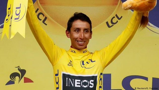 Šampion Tour de France 2019 Egan Bernal.
