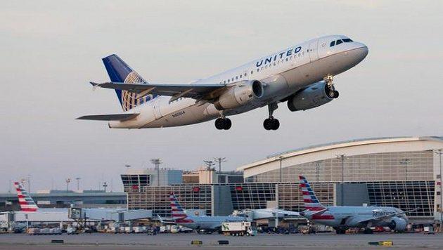 Letecká doprava v USA - ilustrační foto.