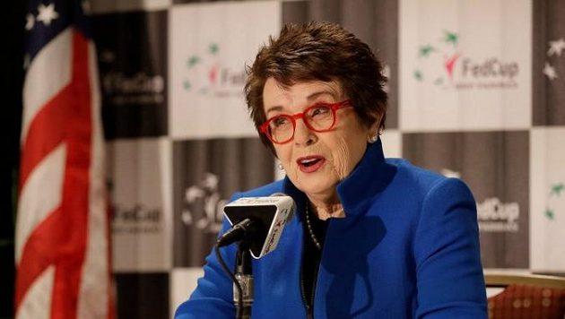 Tenisový Fed Cup ponese na počest bojovnice za rovnost pohlaví a sociální spravedlnost jméno Billie Jean Kingové.