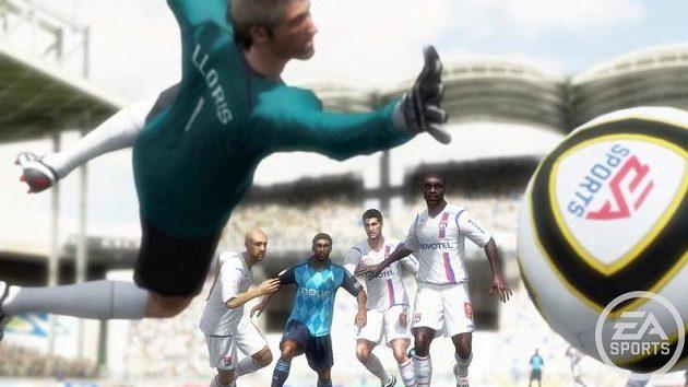 I oni se diví, jak skvělý systém střel autoři FIFA 10 vyvinuli.