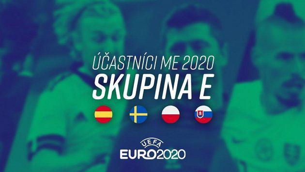 Účastníci ME 2020 – Skupina E