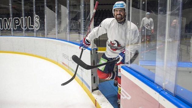 Tomáš Rolinek a jeho návrat na pardubický led.