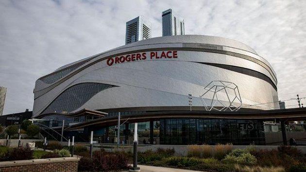 Edmontonská hala Rogers Place.