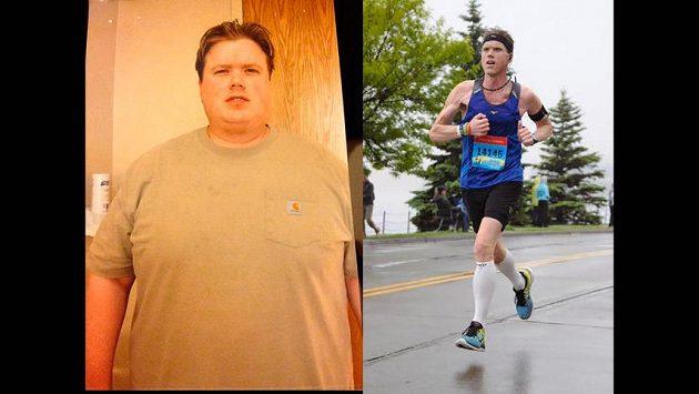 Američan Barry Brokaw ubral ze své váhy 118 kilogramů!