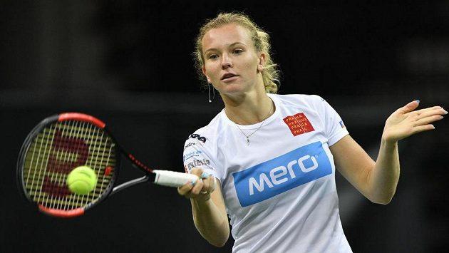 Bude Kateřina Siniaková hlavní zbraní českého týmu ve finále proti USA?