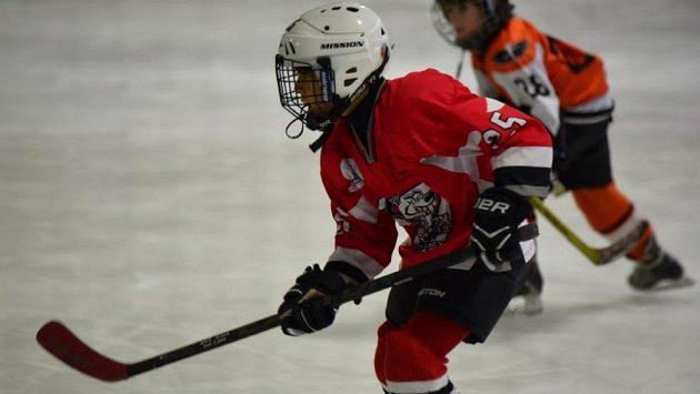 Zico Jerome si zamiloval hokej, vůbec mu nevadí, že je z Austrálie.