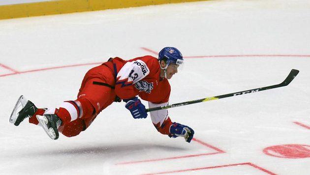 Trenér Varaďa české hokejové dvacítky a hráči o zranění útočníka Jakuba Lauka.