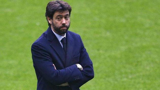 Šéf Juventusu Andrea Agnelli.
