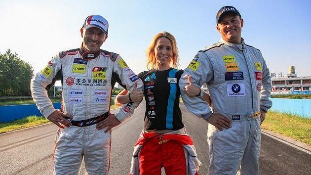 Zleva David Vršecký, Adrienn Vogelová a Adam Lacko.