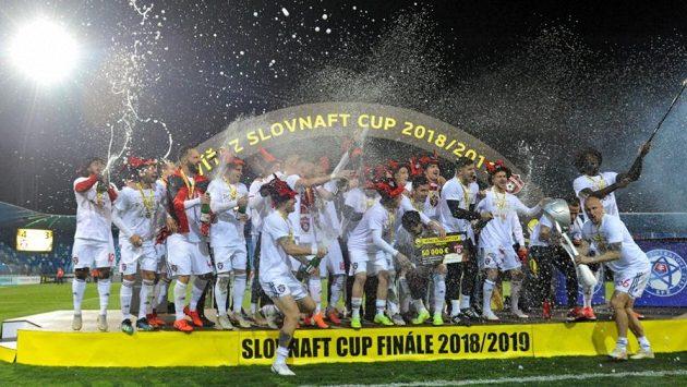Fotbalisté Spartaku Trnava ovládli Slovenský pohár (Slovnaft Cup).