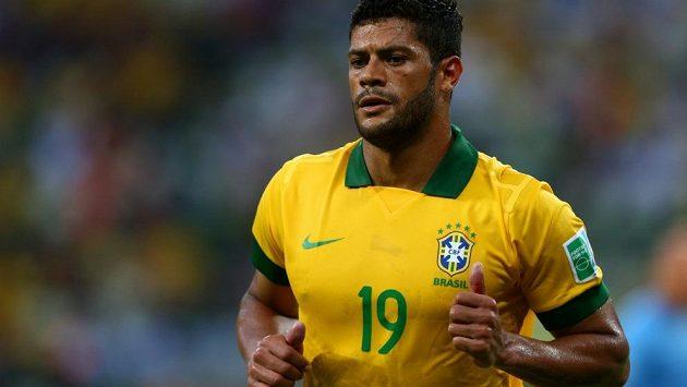 Brazilský reprezentant Hulk - ilustrační foto.