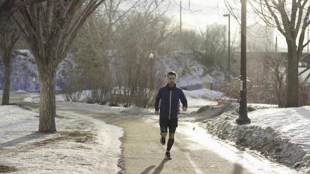 Andre Lessard vážil 113 kilo, přes pas měl 112 centimetrů. Běháním sundal téměř 50 kilo.