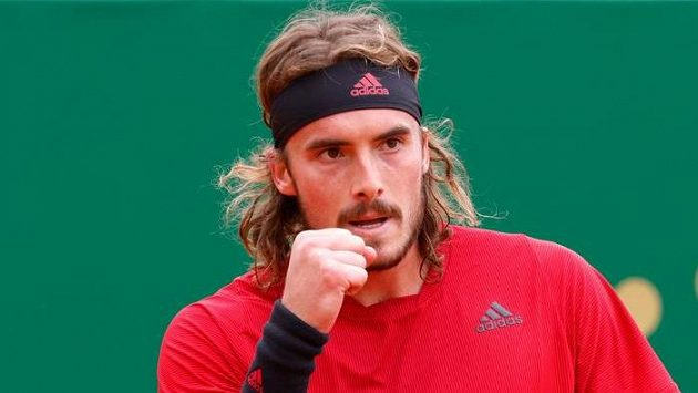 Řecký tenista Stefanos Tsitsipas