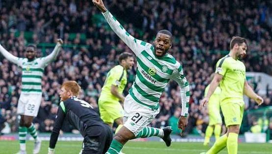 Gólová radost fotbalistů Celticu Glasgow - ilustrační foto.