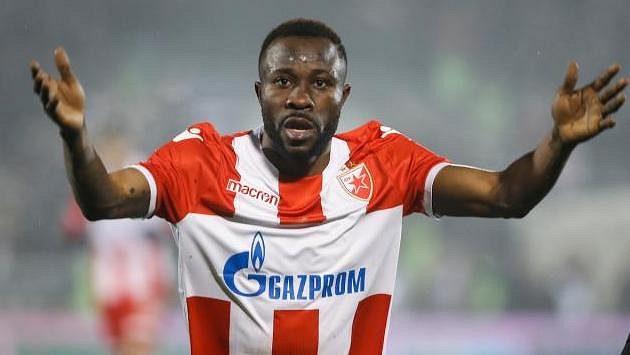 Guélor Kanga z CZ Bělehrad se údajně dohodl na přestupu s pražskou Spartou.