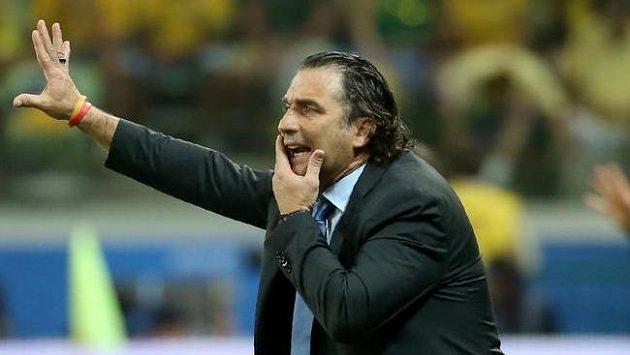 Trenér Chile Juan Pizzi.