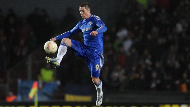 Fernando Torres v dresu Chelsea.