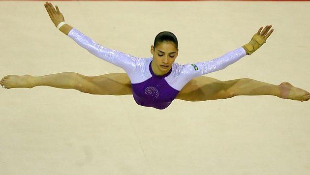 Brazilka Laís Souzaová ještě jako gymnastka.