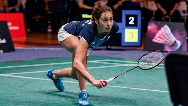 Pátý titul mistryně republiky v badmintonu vybojovala Tereza Švábíková