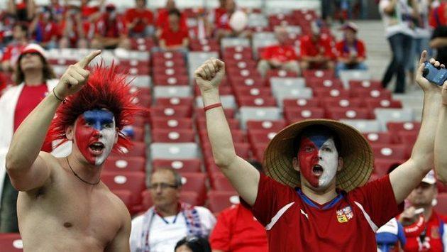 Fanoušci české fotbalové reprezentace