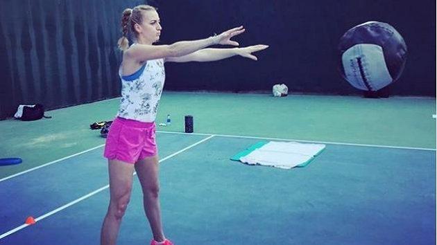 Petra Kvitová začíná přípravu na novou sezonu