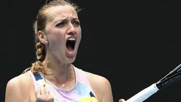 Petra Kvitová postoupila do 3. kola Australian Open