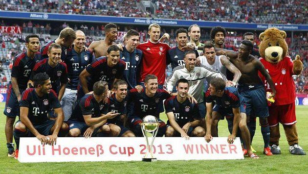 Mnichovský Bayern získal v letní přípravě už druhou trofej.