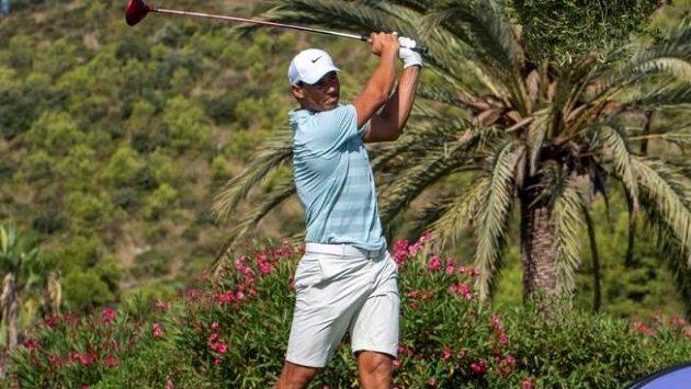 Rafael Nadal si opět vyzkouší golf