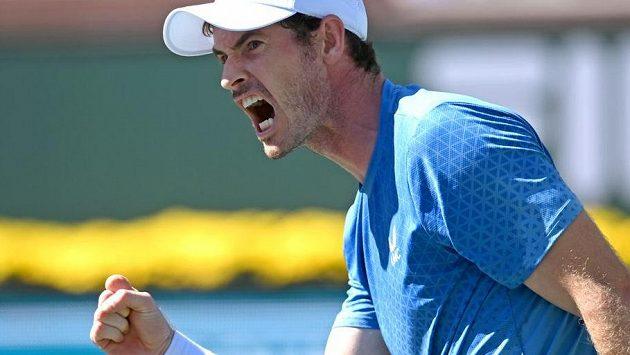 Andy Murray zaskočil soupeře podáním spodem