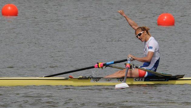 Skifařka Miroslava Knapková dosáhla v Poznani už na pátý titul evropské šampiónky.