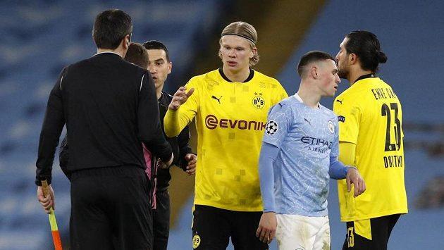 Sestih čtvtrtfinále Ligy mistrů: Manchester City - Dortmund