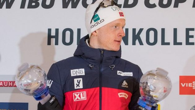 Norský biatlonista Johannes Thingnes Bö dostal evropskou cenu fair play