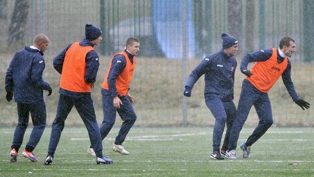 Fotbalisté Baníku Ostrava se připravují na jarní část sezóny.