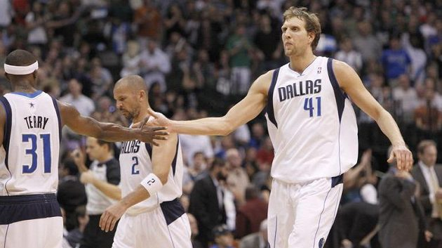 Basketbalista Dallasu Dirk Nowitzki