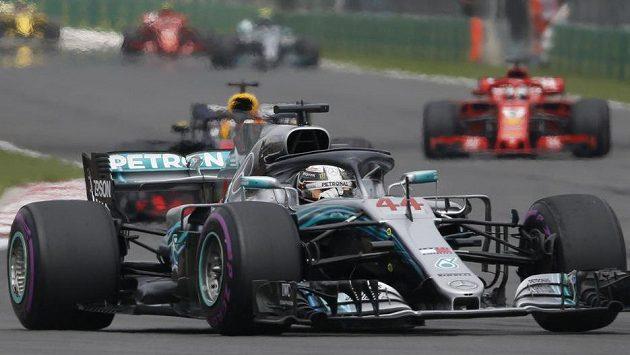 Britský pilot Lewis Hamilton při GP Mexika. (archivní foto)