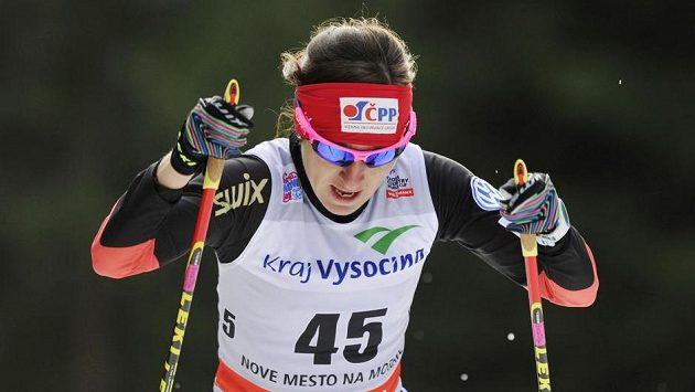 Česká reprezentantka Eva Vrabcová-Nývltová v kvalifikaci.