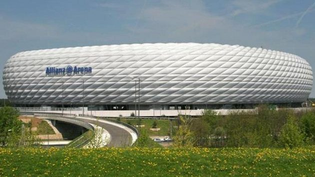Allianz Aréna vMnichově