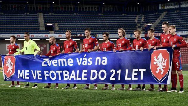 Fotbalisté české reprezentace do 21 let mají před sebou jasný cíl...