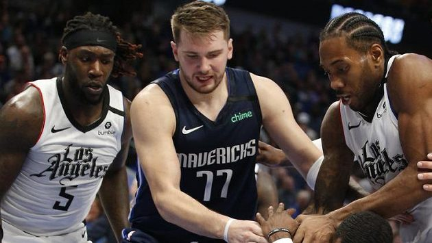 Basketbalisté Dallasu nestačili na Clippers