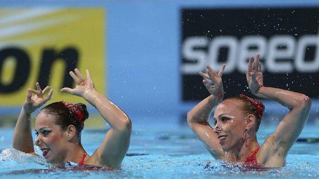 Synchronizované plavkyně Alžběta Dufková a Soňa Bernardová (na archivním snímku) si vybojovaly účast na olympiádě v Riu.