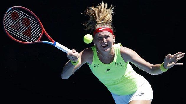 Česká tenistka Marie Bouzková.