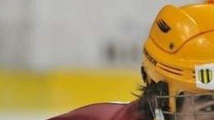 Slovenský hokejový talent Marko Daňo na archivním snímku